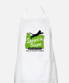 """Feral Cat Coalition of Oregon: """"Spayed in Or Apron"""