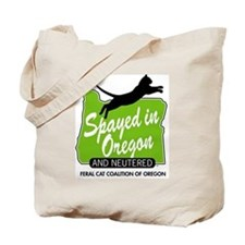 "Feral Cat Coalition of Oregon: ""Spayed in Tote Bag"