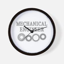 Mechanical Engineer Wall Clock