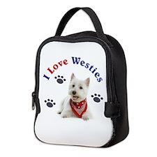 I Love Westies 111 Neoprene Lunch Bag
