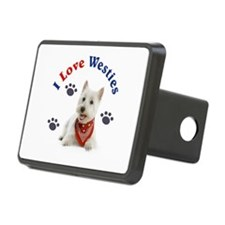 I Love Westies 111 Hitch Cover