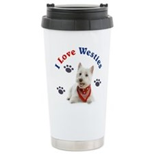 I Love Westies 111 Travel Mug