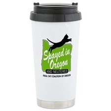 Fcco Spayed In Oregon Travel Mug