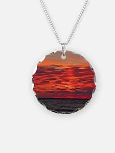 Fire Sunset Lk Superior Necklace
