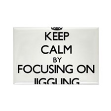 Keep Calm by focusing on Jiggling Magnets