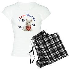I Love Westies 111 Pajamas