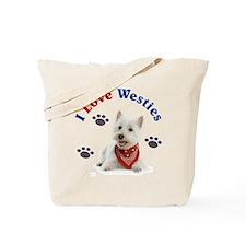 I Love Westies 111 Tote Bag