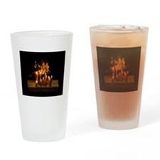 Fire Reflections Drinking Glass