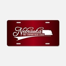 Nebraska State of Mine Aluminum License Plate