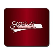 Nebraska State of Mine Mousepad