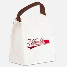 Nebraska State of Mine Canvas Lunch Bag