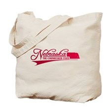 Nebraska State of Mine Tote Bag