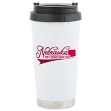Nebraska State of Mine Travel Mug