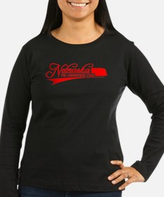 Nebraska State of Mine Long Sleeve T-Shirt