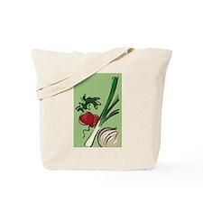 Radish and Onions Tote Bag