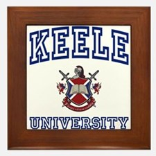 KEELE University Framed Tile