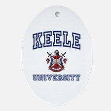 KEELE University Oval Ornament