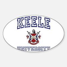 KEELE University Oval Decal