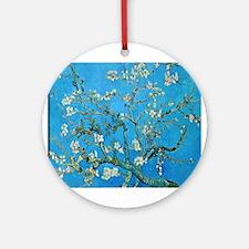 Van Gogh: Almond Blossoms Ornament (Round)