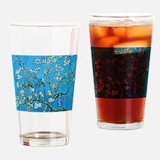 Van Gogh: Almond Blossoms Drinking Glass