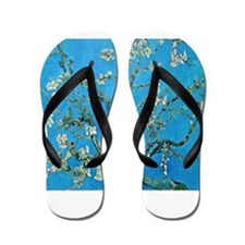Van Gogh: Almond Blossoms Flip Flops