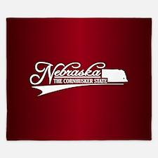 Nebraska State of Mine King Duvet
