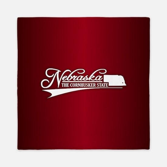 Nebraska State of Mine Queen Duvet