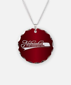 Nebraska State of Mine Necklace
