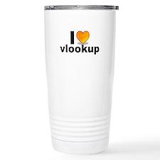 Funny Vlookups Travel Mug