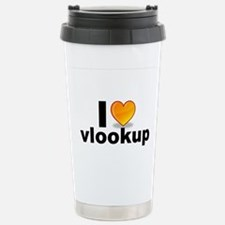 Cute I love excel Travel Mug