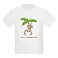 Personalized Monkey T-Shirt