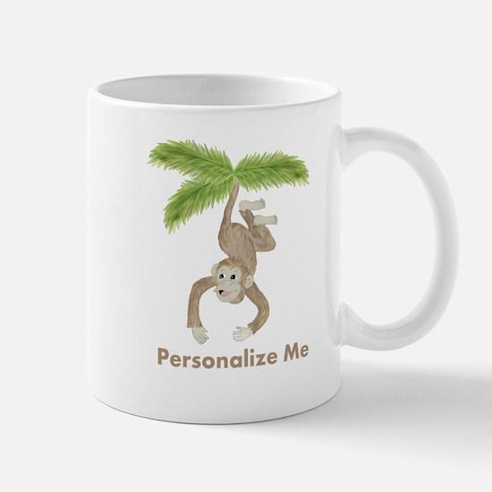 Personalized Monkey Mug