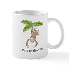 Personalized Monkey Small Mugs