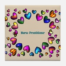 Nurse Practitioner Tile Coaster