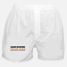Sharp Shooters Kick Ass Boxer Shorts