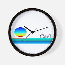 Cael Wall Clock