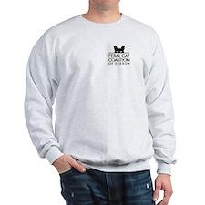 Fcco Sweatshirt With Spayed In Oregon Design