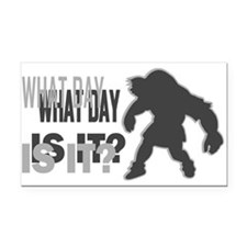 Hump Day Quasimodo Rectangle Car Magnet