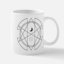 Unicursal Hexagram Luna Sol Mugs