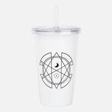 Unicursal Hexagram Lun Acrylic Double-wall Tumbler