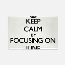 Keep Calm by focusing on June Magnets