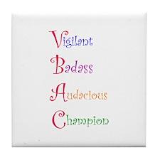 ABCs of VBAC:  Vigilant Tile Coaster