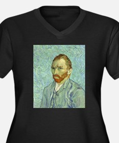 Vincent Van Gogh Self Portrait Plus Size T-Shirt
