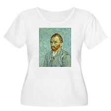 Vincent Van Gogh Self Portrait Plus Size T-Shirt
