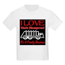 I Love Waste Management T-Shirt