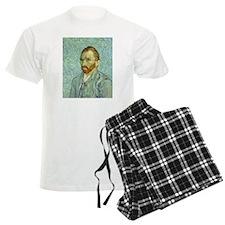 Vincent Van Gogh Self Portrait Pajamas