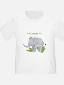 Personalized Elephant T