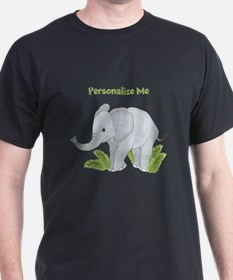 Personalized Elephant T-Shirt
