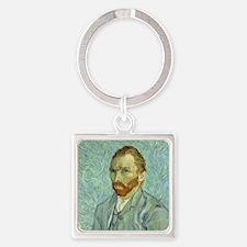 Vincent Van Gogh Self Portrait Keychains