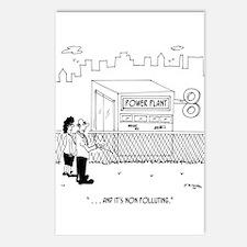 Energy Cartoon 7164 Postcards (Package of 8)